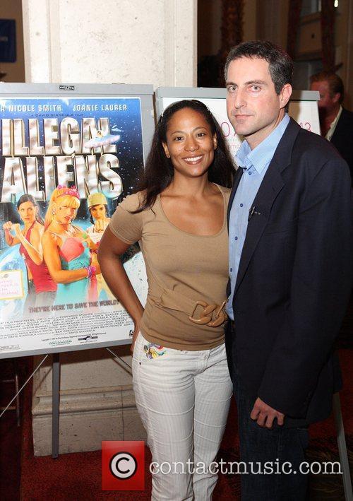 Bahamas International Film Festival founder Leslie Vanderpool and...