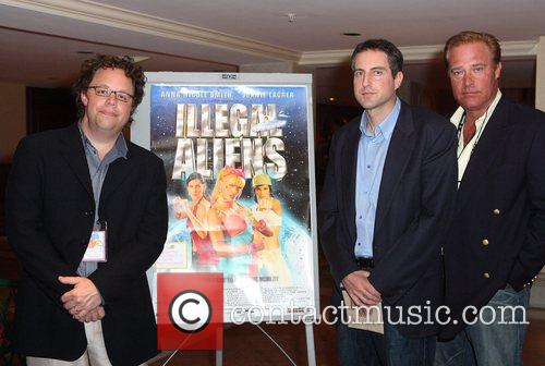 Director David Giancola, Howard K. Stern and producer...