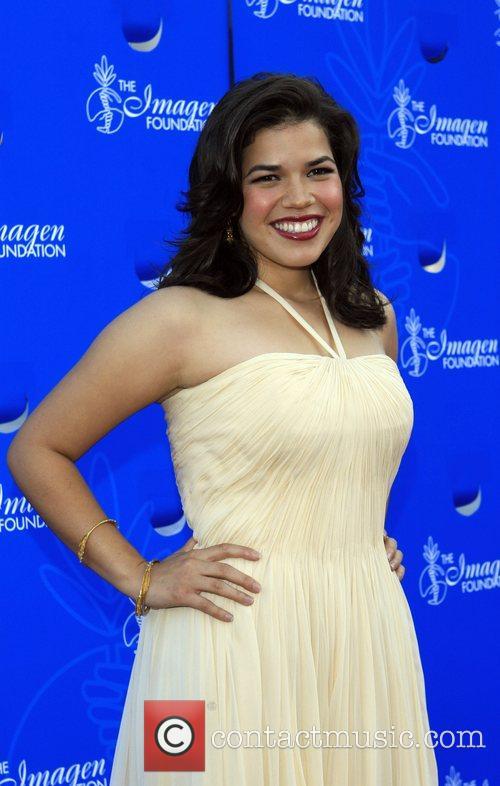 America Ferrera 22nd Annual Imagen Awards at the...