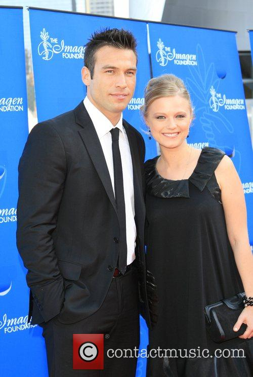 Ana Layevska and guest 22nd Annual Imagen Awards...