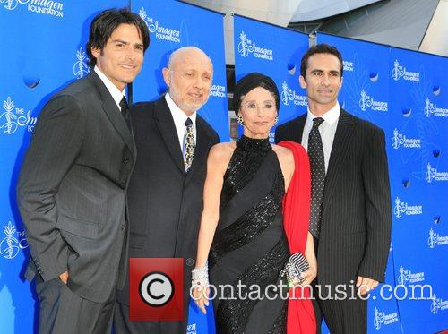 Eddie Matos, Hector Elizondo, Rita Moreno and Nestor...