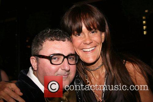 Alber Elbaz and Julie Gilhart Barney's and Iman...