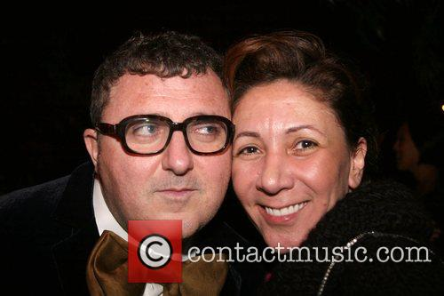 Reem Accra and Alber Elbaz Barney's and Iman...