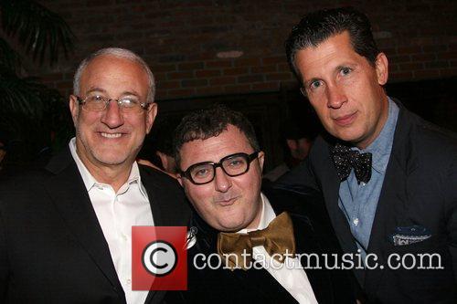 Howard Sokol, Alber Elbaz, Stefano Pilati Barney's and...