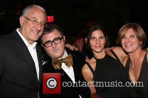 Howard Sokol and family with Alber Elbaz Barney's...