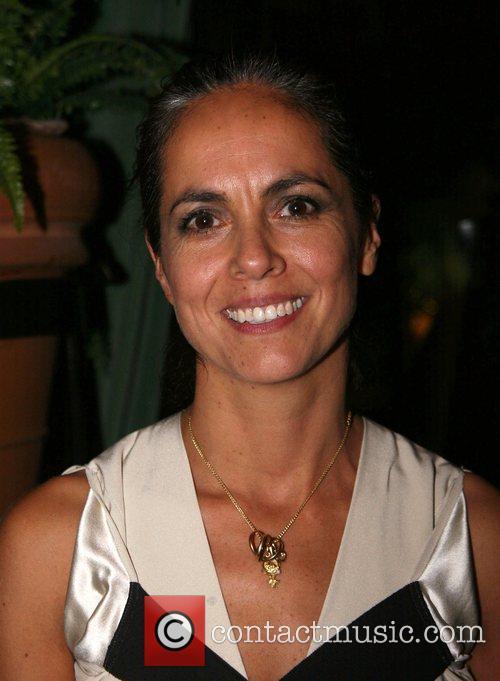 Maria Cornejo Zero Barney's and Iman host a...