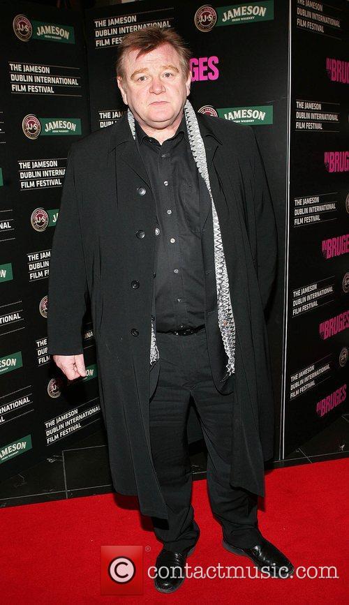 Brendan Gleeson Irish Premiere of 'In Bruges' at...