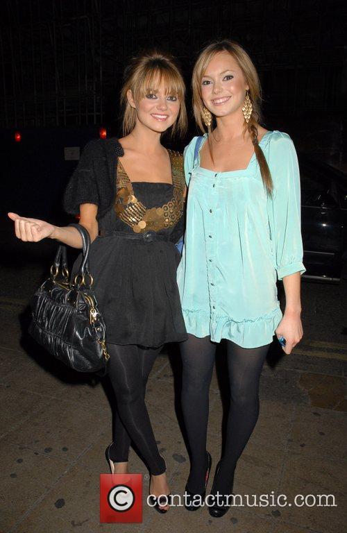 Kara Tointon and Hannah Tointon UK film premiere...