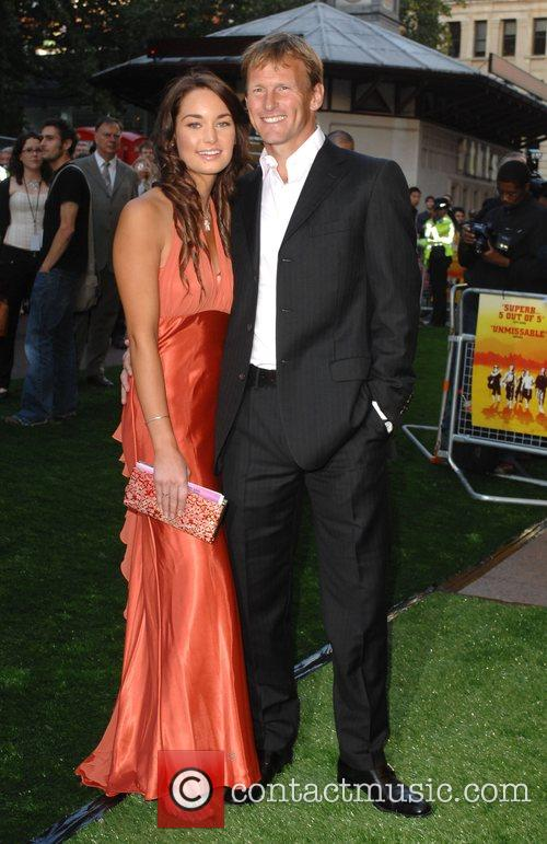 Teddy Sheringham and Guest UK film premiere of...