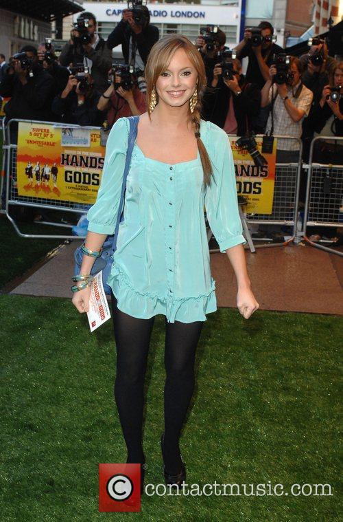 Hannah Tointon UK film premiere of 'In The...