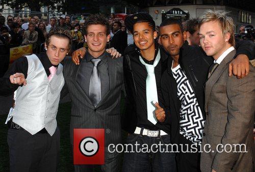 Cast Members UK film premiere of 'In The...