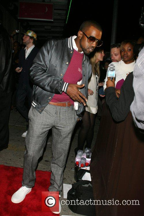 Kanye West In Touch Weekly 5th anniversary party...
