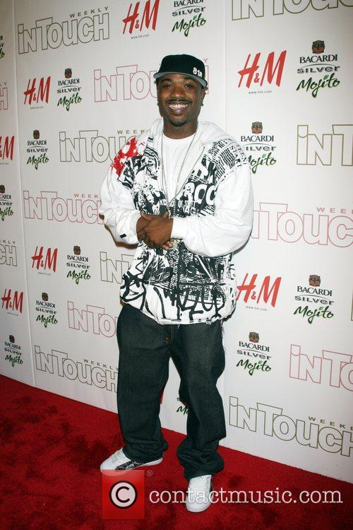 Ray J In Touch Weekly 5th anniversary party...