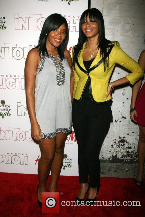 Vanessa Simmons, Angela Simmons In Touch Weekly 5th...