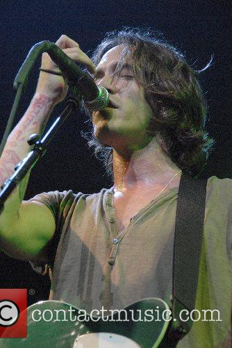 Incubus performing live at Cardiff International Arena