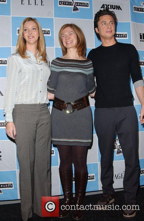 Lisa Kudrow, Dawn Hudson and Zach Braff at...