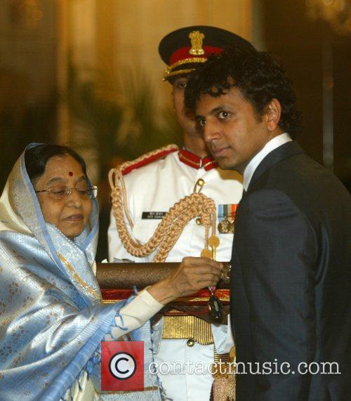 Director Manoj Night Shyamalan receives the Padma Shri...