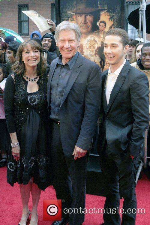 Karen Allen and Harrison Ford 1