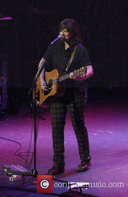 Amy Ray of The Indigo Girls  performing...