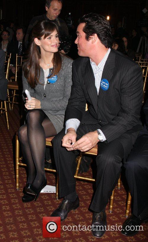 Jennifer Garner and Dean Cain Jennifer Garner and...