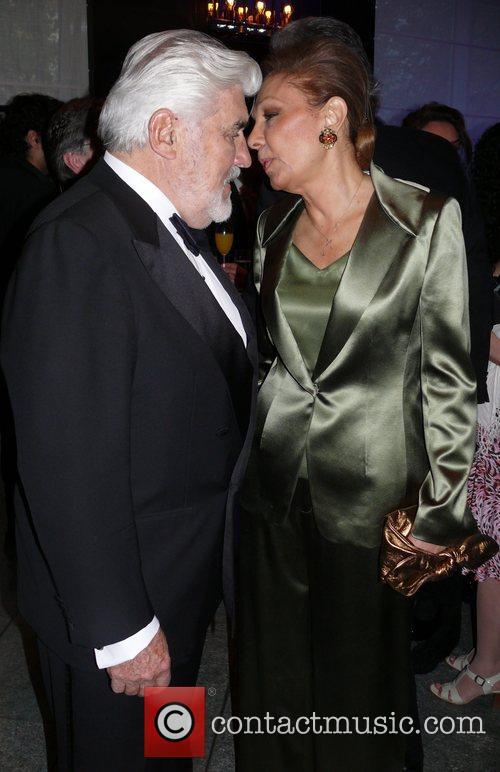 Mario Adorf and Farah Pahlavi