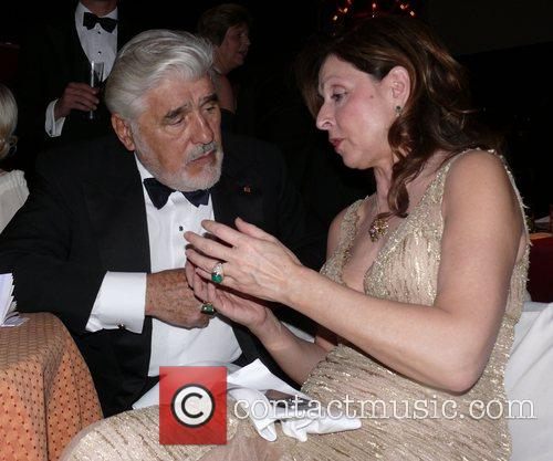 Mario Adorf and Vicky Leandros