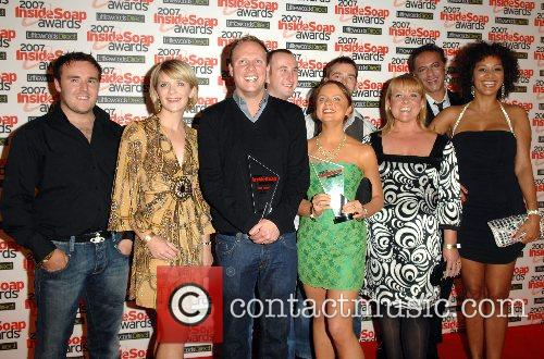 Coronation Street Cast Inside Soap Awards 2007 held...