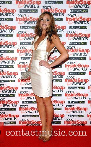HannahTointon Inside Soap Awards 2007 held at Gilgamesh...