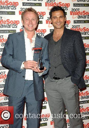 Chris Simmons and guest Inside Soap Awards 2007...