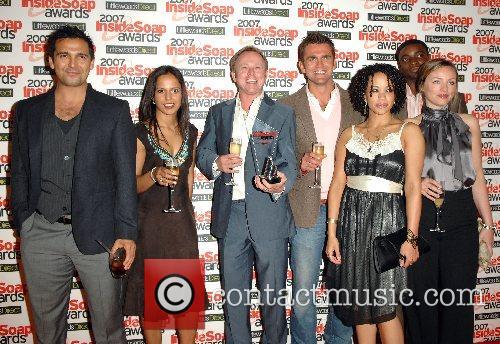The Bill Cast Inside Soap Awards 2007 held...