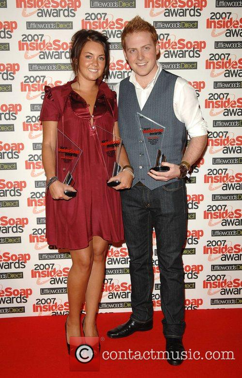 Lacey Turner and Charlie Clements with the Best...