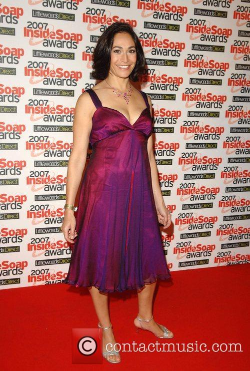 Georgia Slowe Inside Soap Awards 2007 - Arrivals...