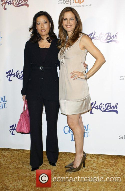 Andrea Wong and Kelly Preston Step Up Women's...