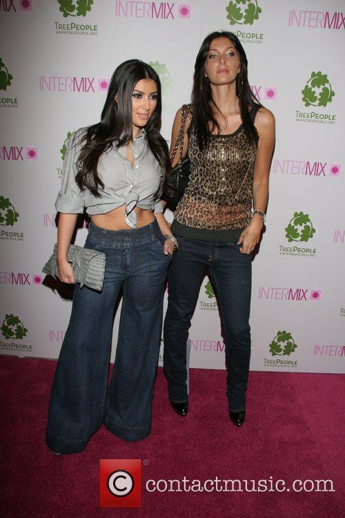 Kim Kardashian and Brittny Gastineau 5