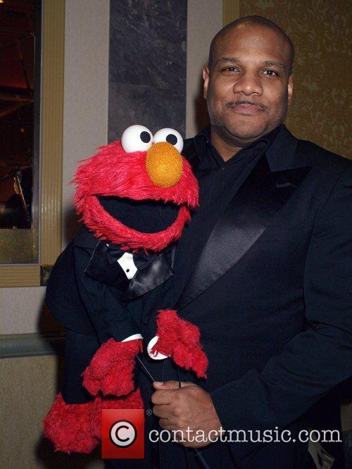 Elmo and Kevin Clash  35th International Emmy...