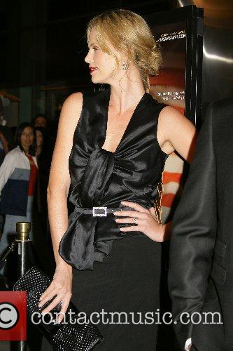 Charlize Theron Los Angeles premiere of 'In The...