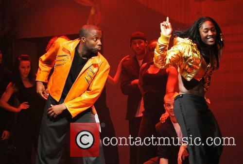 Performing in the stage production of 'Into The...