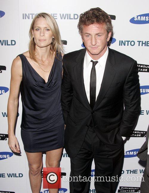 Robin Wright Penn and Sean Penn 1
