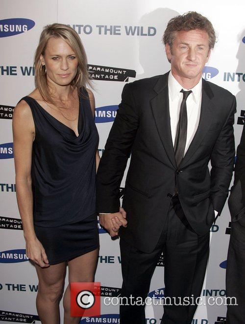 Robin Wright Penn and Sean Penn 2