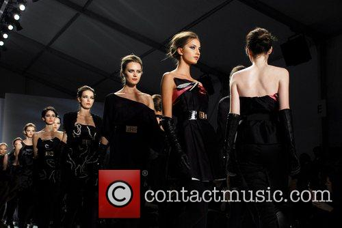 Iodice Fashion Show at New York Mercedes Benz...