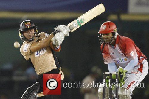 Kings XI Punjab versus Deccan Chargers in the...