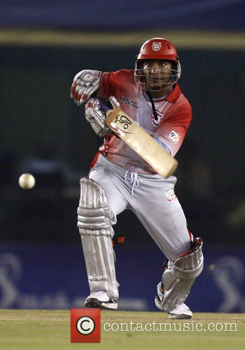 Kumar Sangakkara of Kings XI Punjab Kings XI...