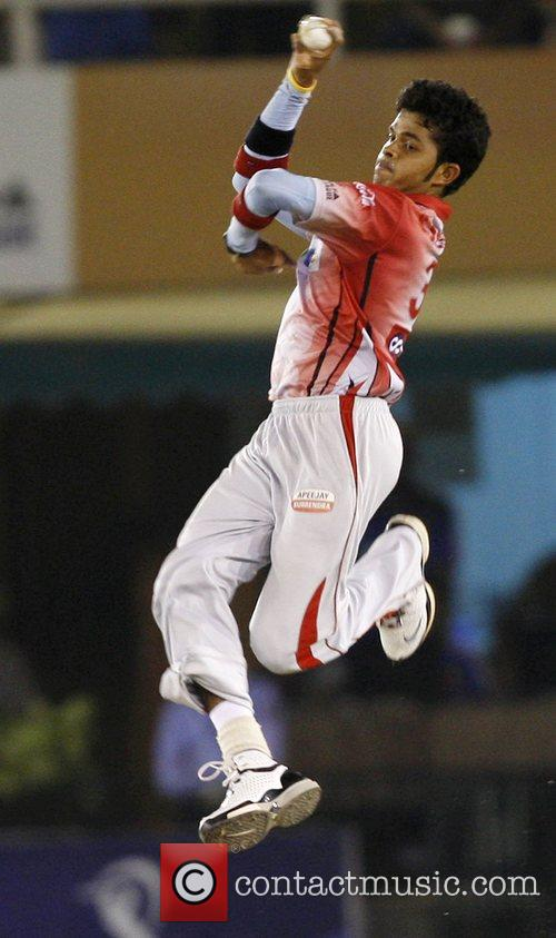 S Sreesanth of Kings XI Punjab  Kings...