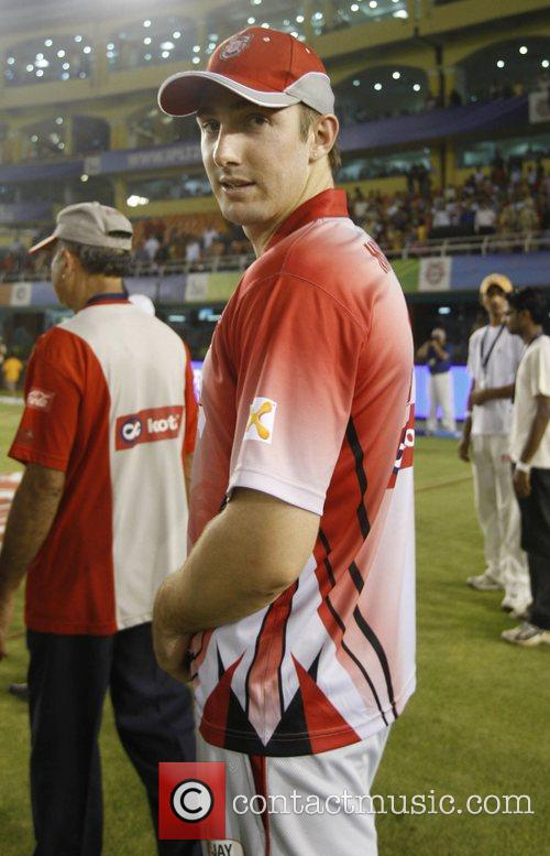Shaun Marsh of Kings XI Punjab Kings XI...