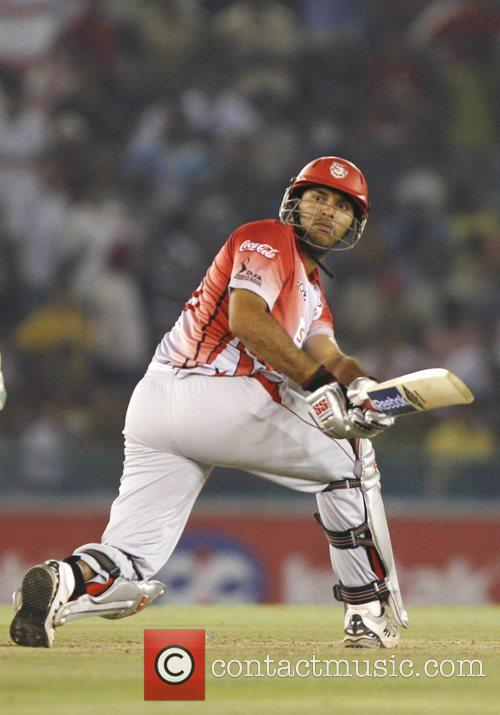 Yuvraj Singh, captain of Kings XI Punjab...