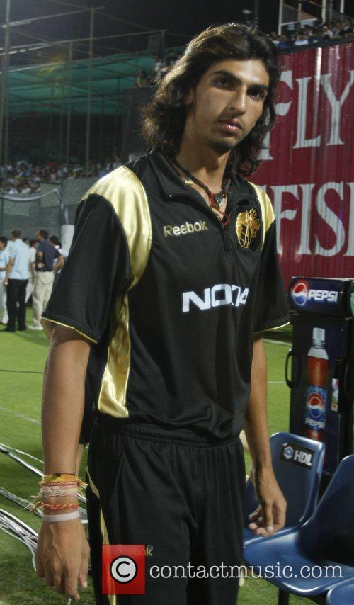 Kolkata Knight Riders Ishant Sharma after the match...