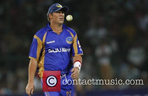 During the match against Kolkata Knight at the...
