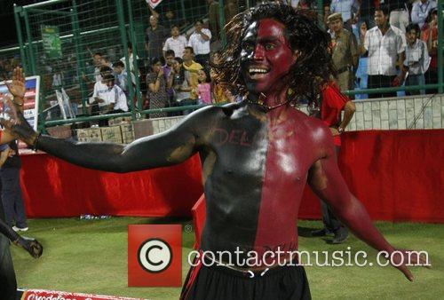 Delhi Daredevils supporter during the Delhi Daredevils vs...