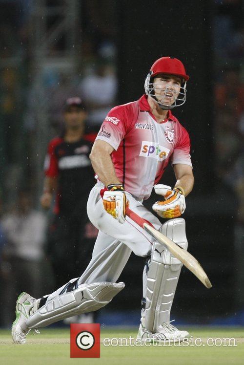 Luke Pomersbach player of Kings XI Punjab during...