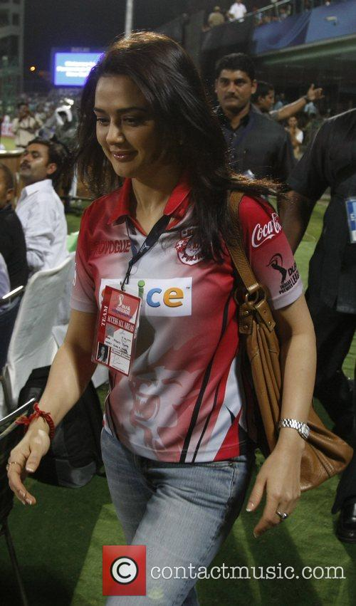Preity Zinta Bollywood actress and and co-owner of...